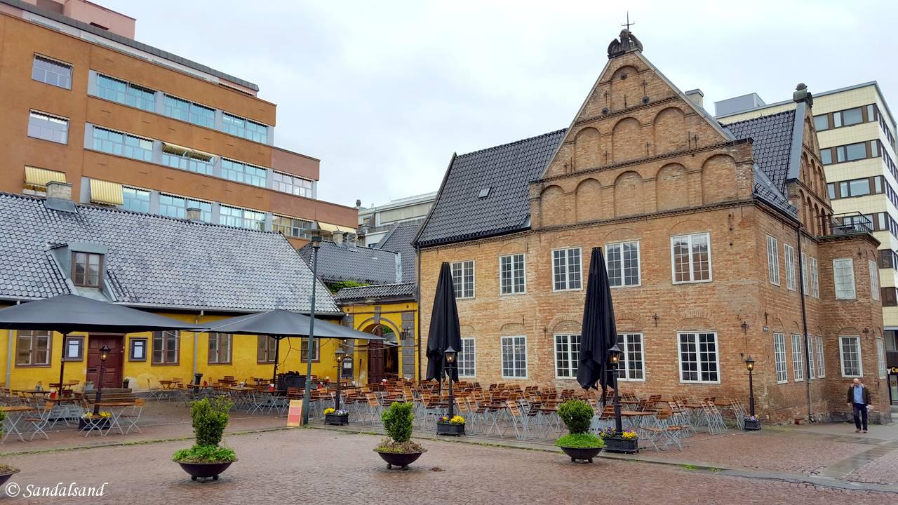 Oslo - Christiania Torv - Anatomigården og Rådmannsgården