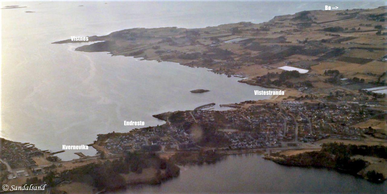 Rogaland - Randaberg - Luftfoto Vistnes