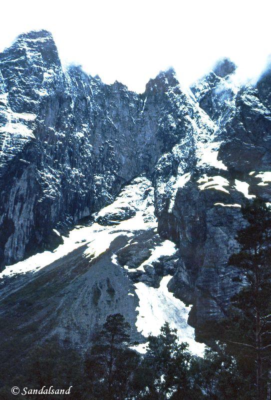Norway - Møre og Romsdal - Åndalsnes - Trollveggen