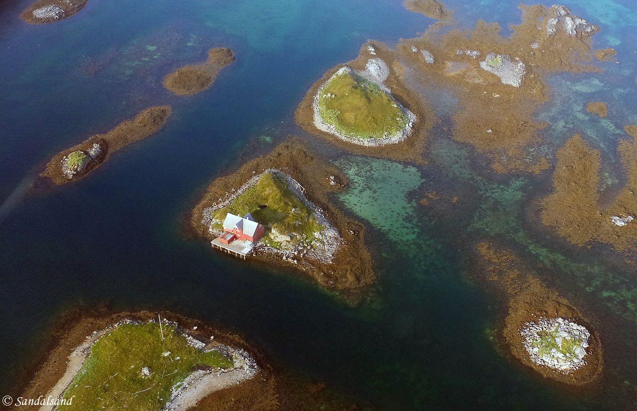 Nordland - Røst - Luftfoto