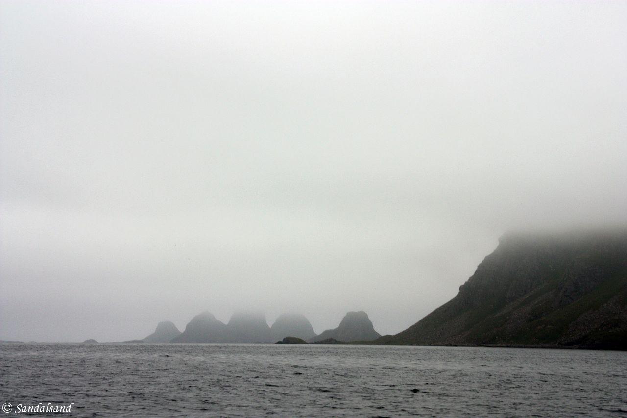 Nordland - Røst - Storfjellet og Trenyken