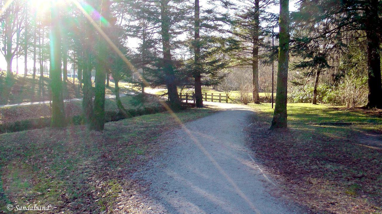 Rogaland - Sandnes - Sandvedparken til Ganddal