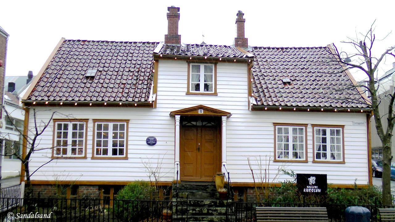 Rogaland - Sandnes - Nygårdshuset i Langgata