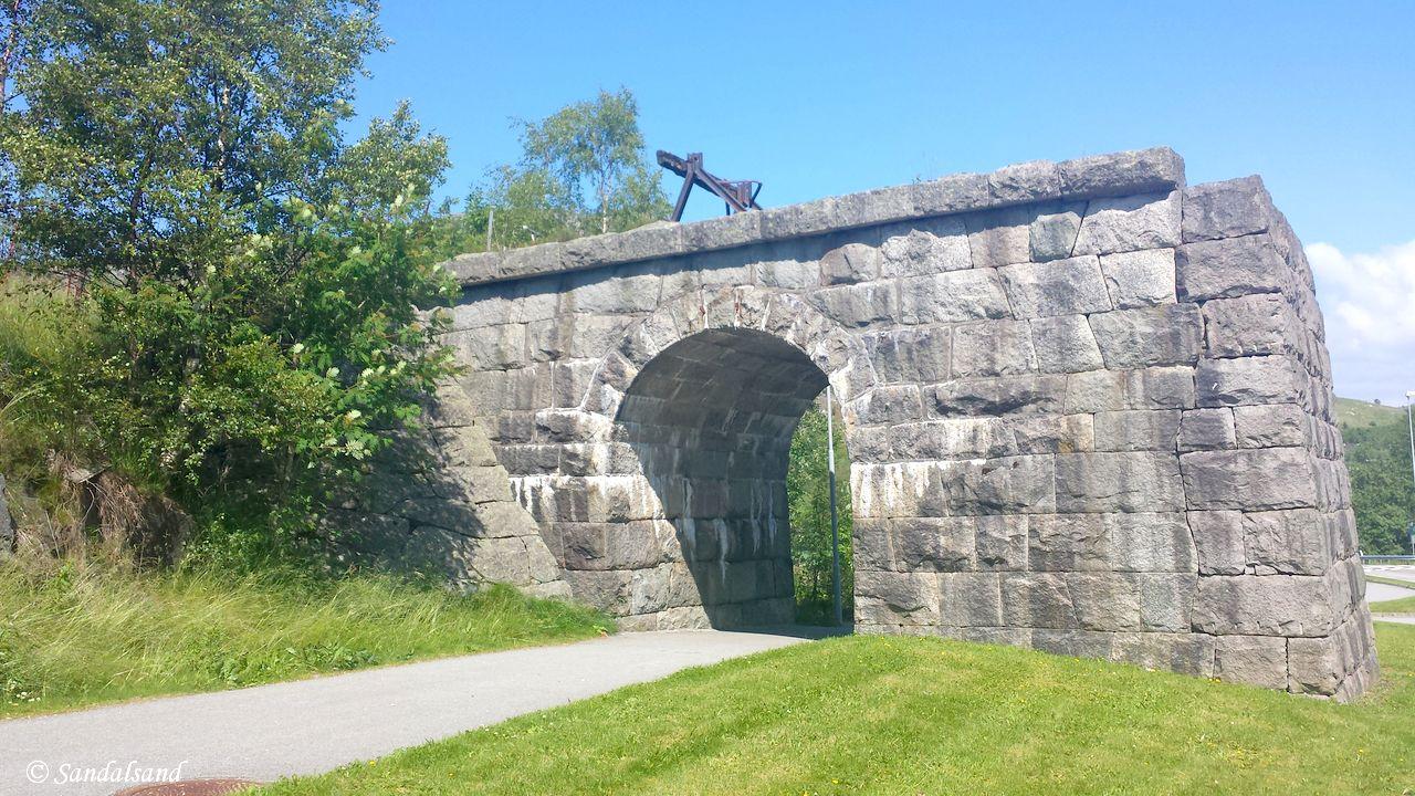 Rogaland - Sandnes - Figgjo - Nedlagt bro på Ålgårdbanen