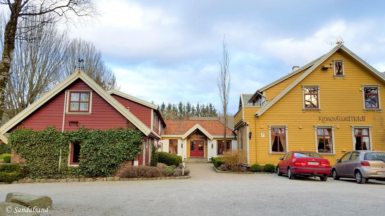 Rogaland - Sandnes - Kronen Gaard Hotel