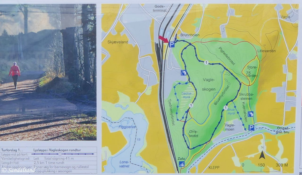 vagleskogen kart Vagleskogen i Sandnes | Sandalsand vagleskogen kart