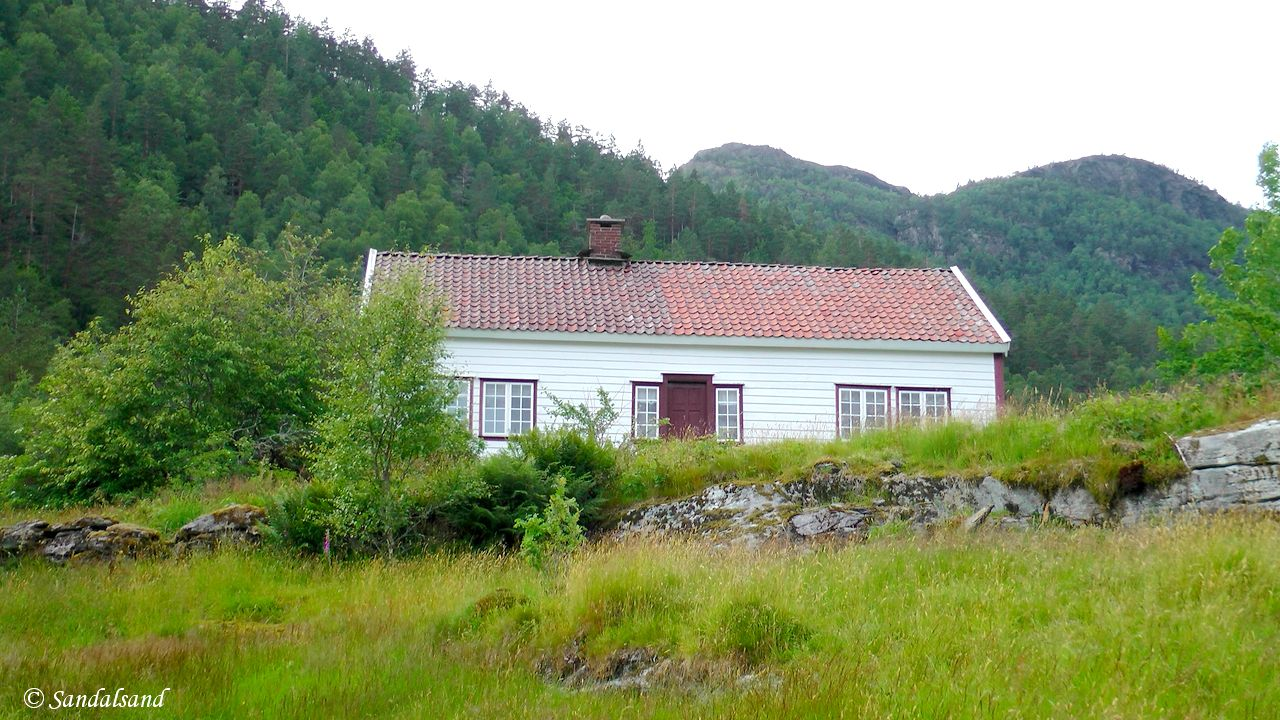 Norway - Rogaland - Sauda - Hustveit - Jonegarden