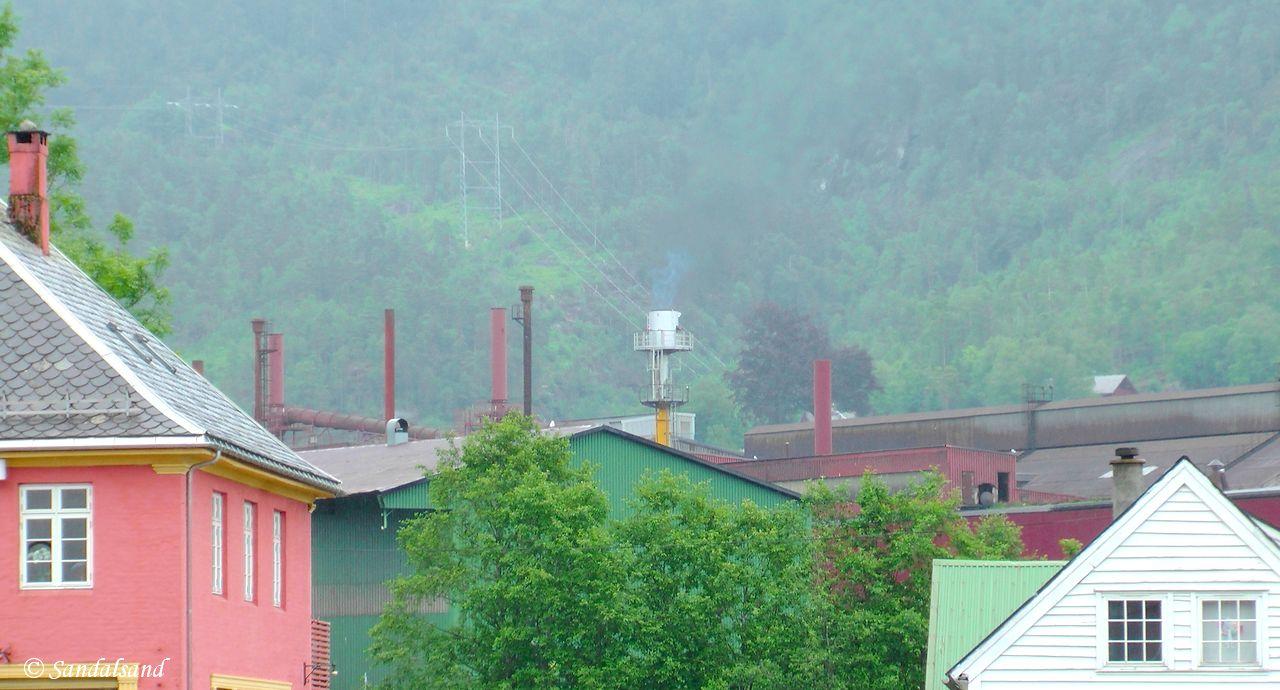 Rogaland - Sauda - Smelteverket