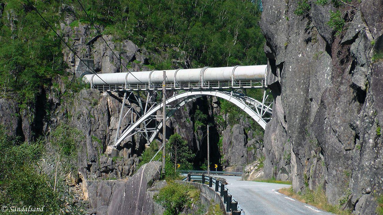 Rogaland - Sauda - Fv520 - Allmannajuvet