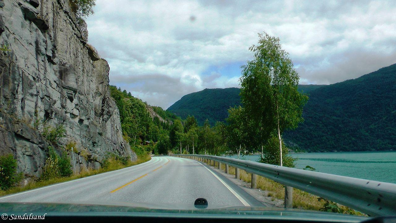 Sogn og Fjordane - Sogndal - Rv5 - Sognefjorden