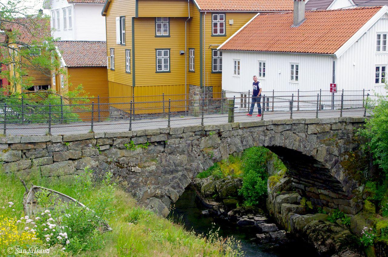 Rogaland - Sokndal - Sogndalstrand - Stranda steinbro