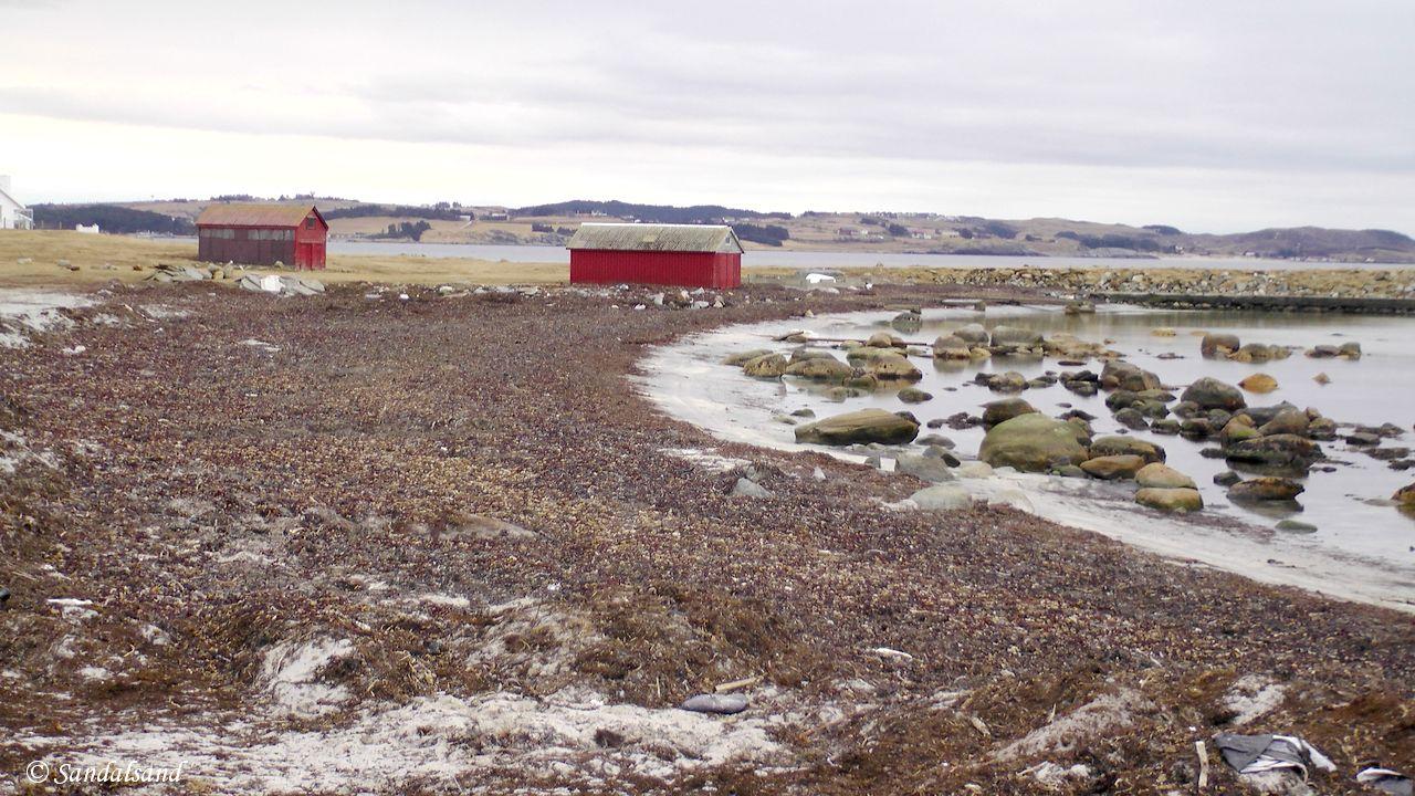 Rogaland - Sola - Kolnes - Naust på Vestre Stranda - Jærkysten