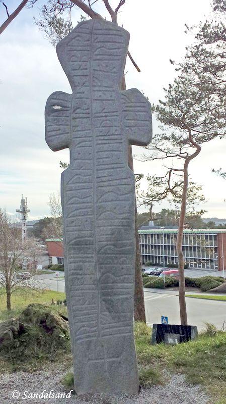 Rogaland - Sola - Erling Skjalgsson-korset på Kongshaug