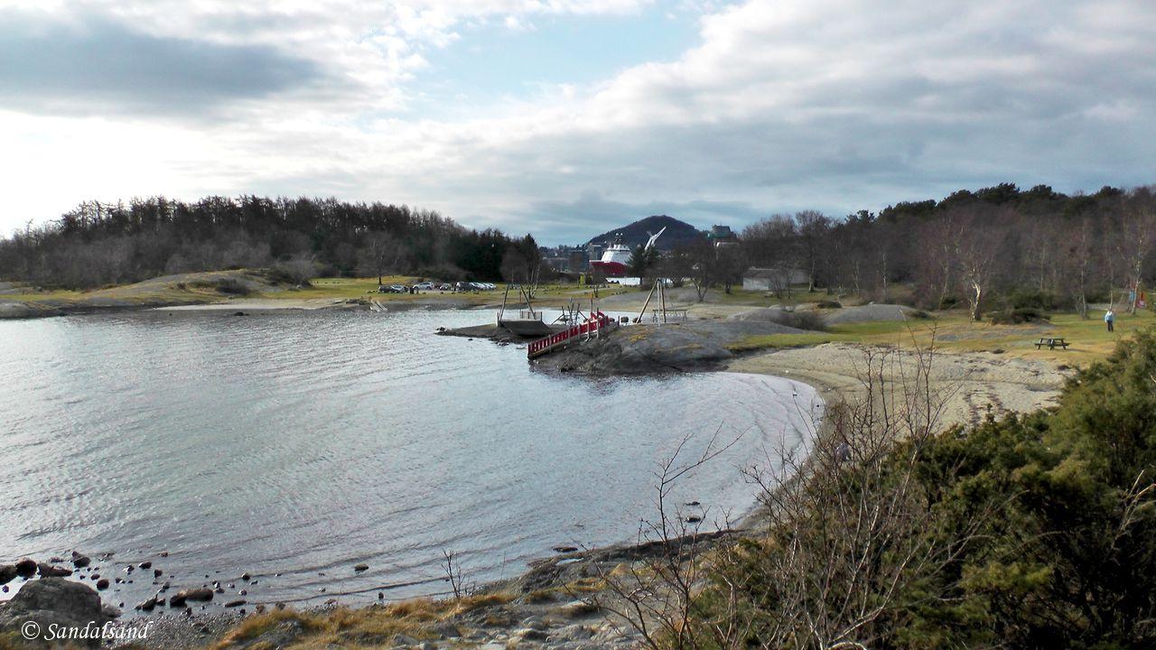 Rogaland - Stavanger - Gandsfjorden - Fra Mariero til Gauselstranda