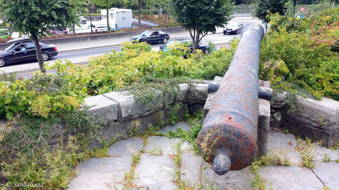 Rogaland - Stavanger - Kanoner i Museumsparken
