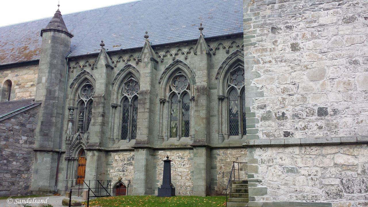 Rogaland - Stavanger - Domkirken sett fra sør