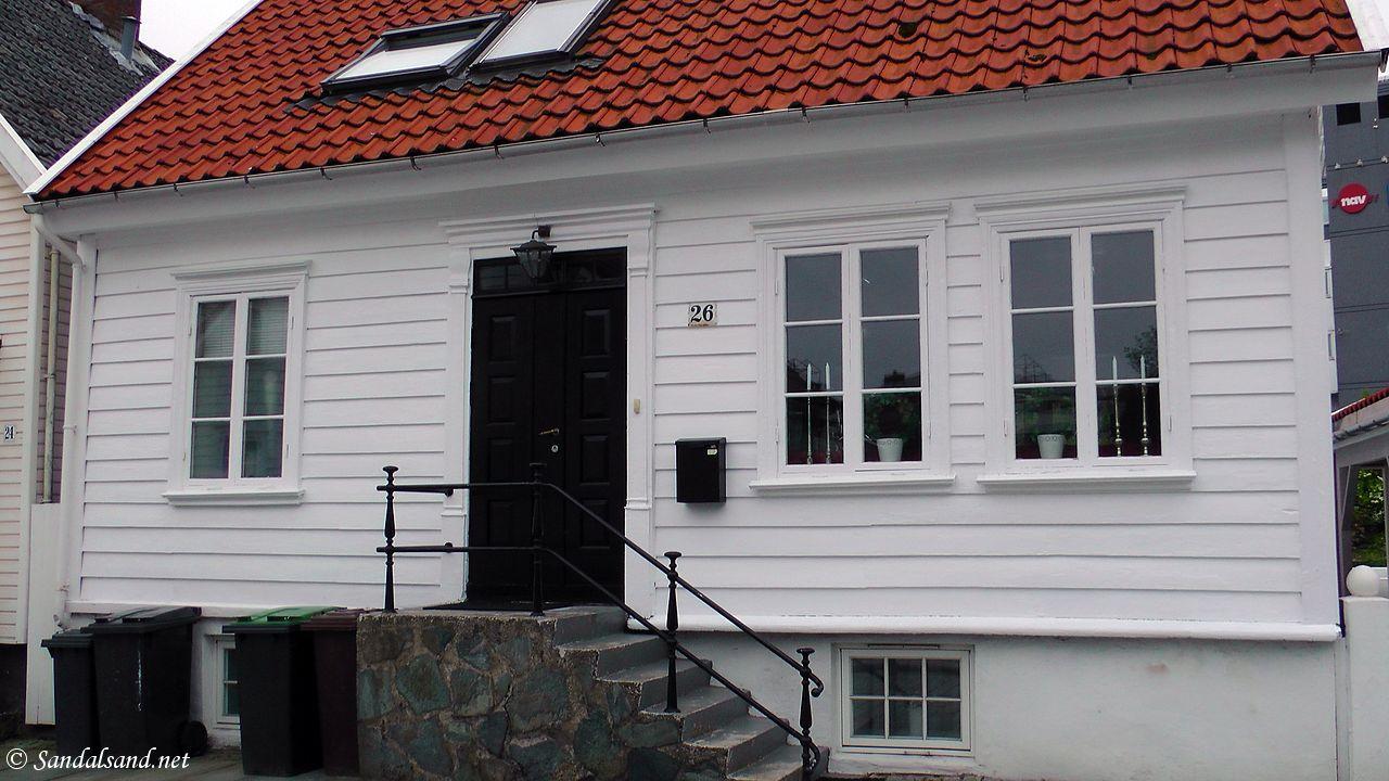 Rogaland - Stavanger - Hertervighuset i Rosenberggata 26