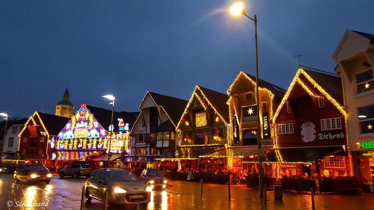 Rogaland - Stavanger - Vågen i julepynt