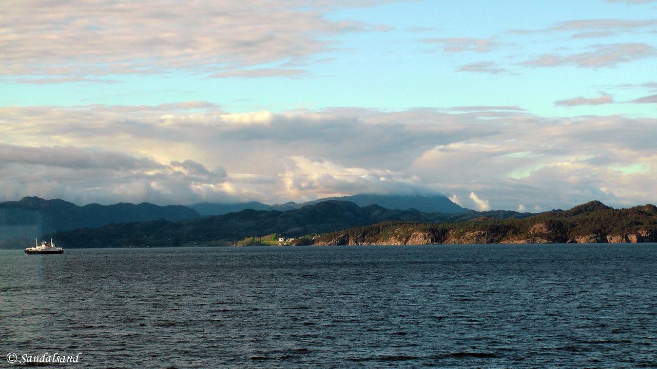 Hordaland - Stord - Ferja til Ranavik