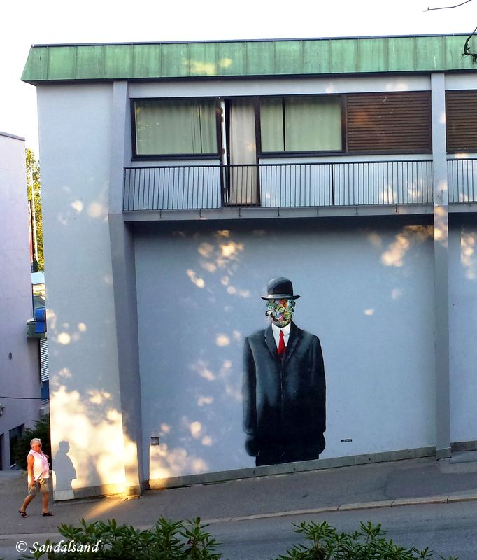 Rogaland - Stavanger - Street art - Artist: MARTIN WHATSON