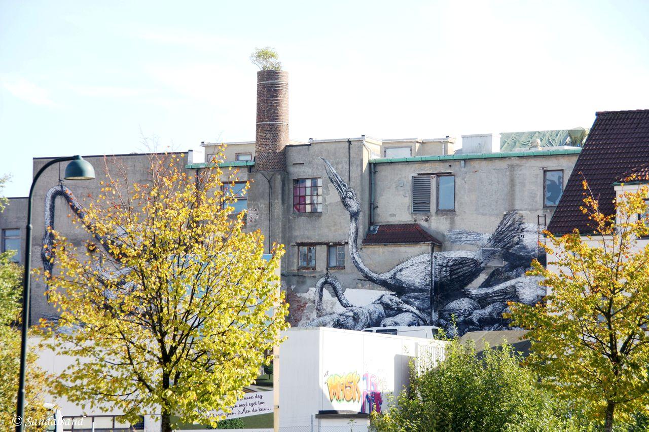 Rogaland - Stavanger - Street art - Artist: Roa