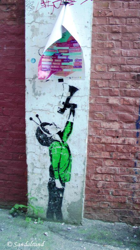 Rogaland - Stavanger - Street art - Artist: Dolk