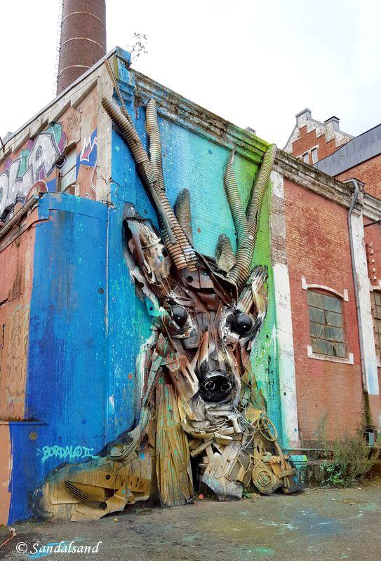 Rogaland - Stavanger - Street Art - Tou Scene - Artist: Bordalo II