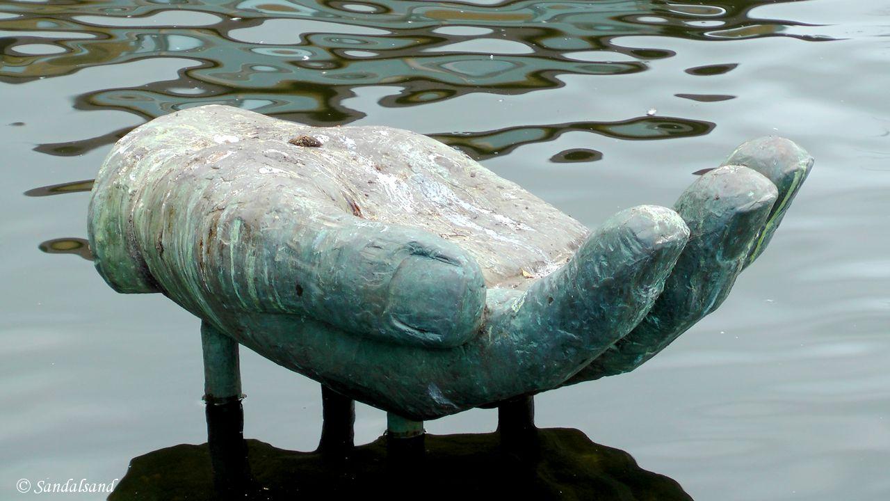 Time - Bryne - Skulptur - Omsorg, Fritz Røed skulpturpark