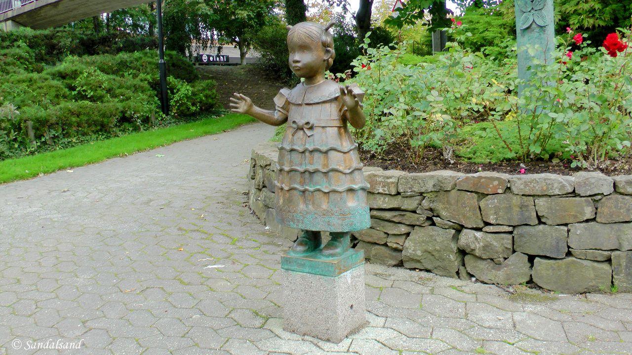 Time - Bryne - Skulptur - Liten søndagsprinsesse, Fritz Røed skulpturpark