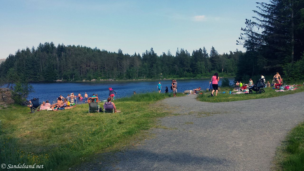 Rogaland - Time - Melsvatnet