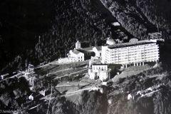 Telemark - Tinn - Rjukan - Vemork - Gammel foto med Hydrogenfabrikken inkludert
