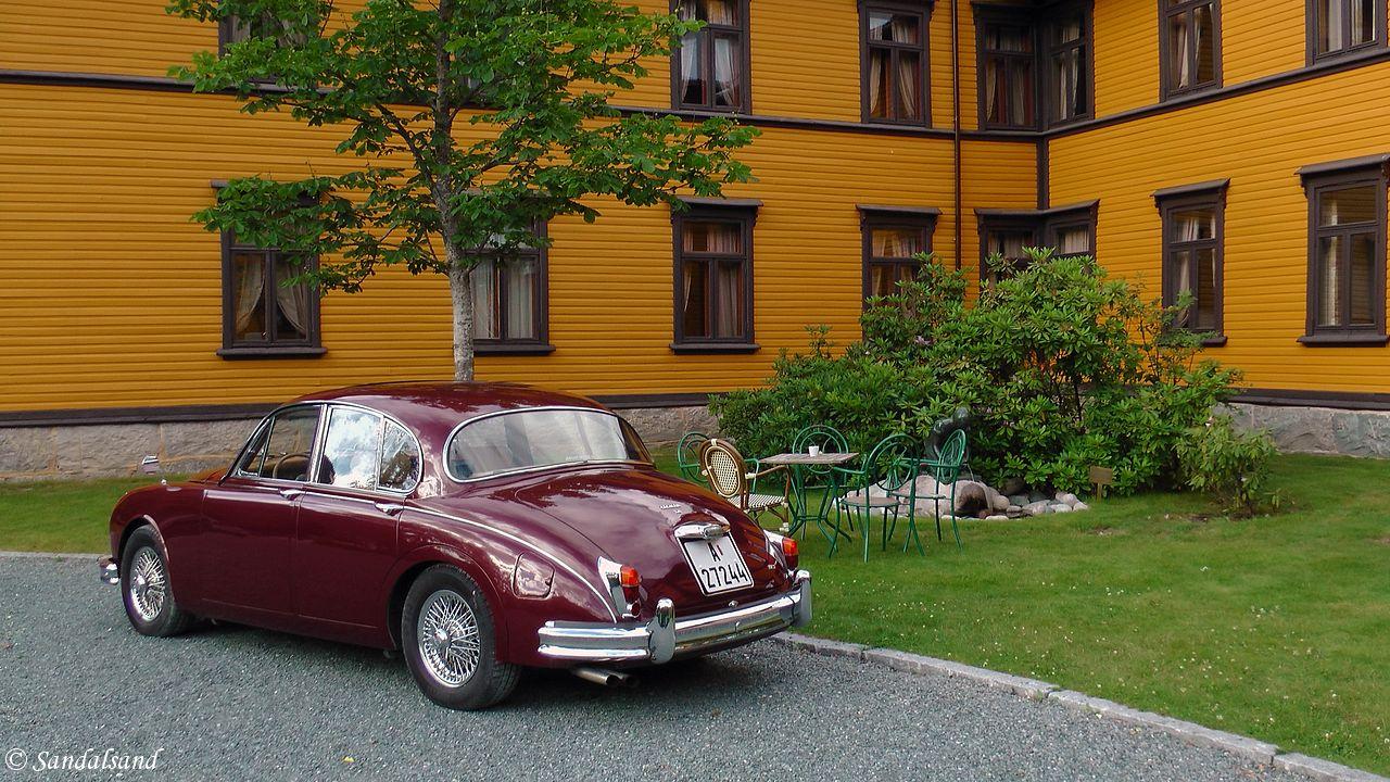 Telemark - Tokke - Dalen Hotel - Foran inngangspartiet