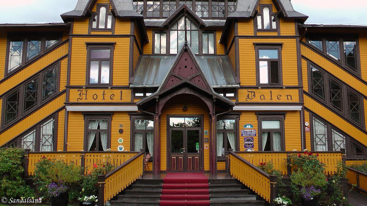 Telemark - Tokke - Dalen Hotel - Inngangspartiet