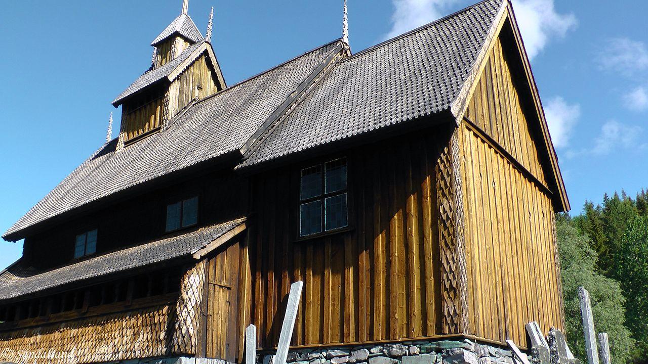 Telemark - Tokke - Eidsborg stavkirke