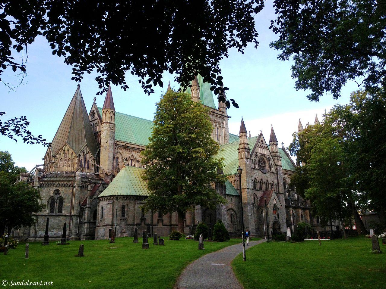St Olav Cathedral (Nidaros) in Trondheim, Norway