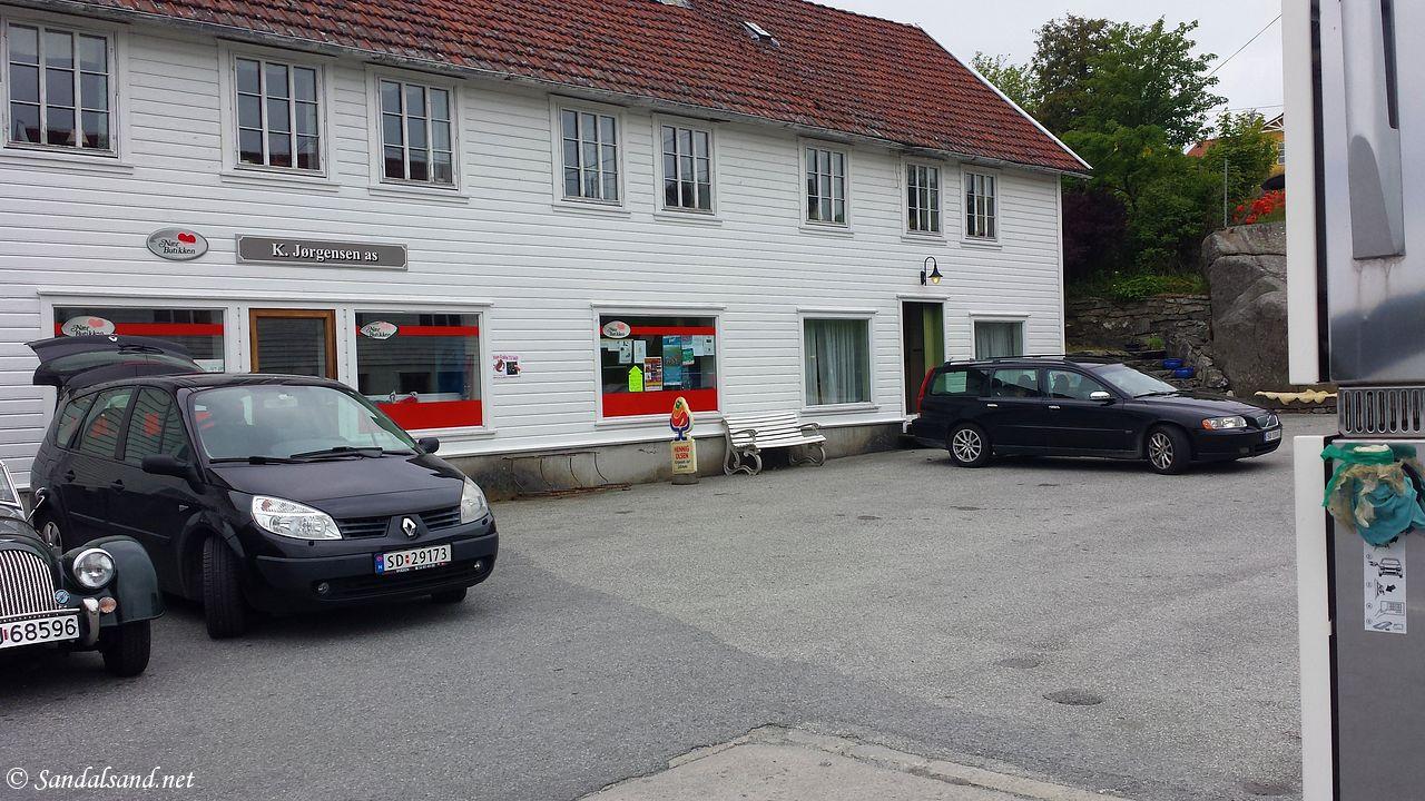 Rogaland - Tysvær - Slåttevik - K. Jørgensens landhandel
