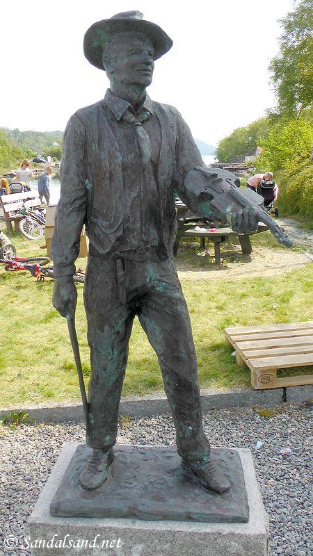 Rogaland - Tysvær - Skjoldastraumen - Skulptur