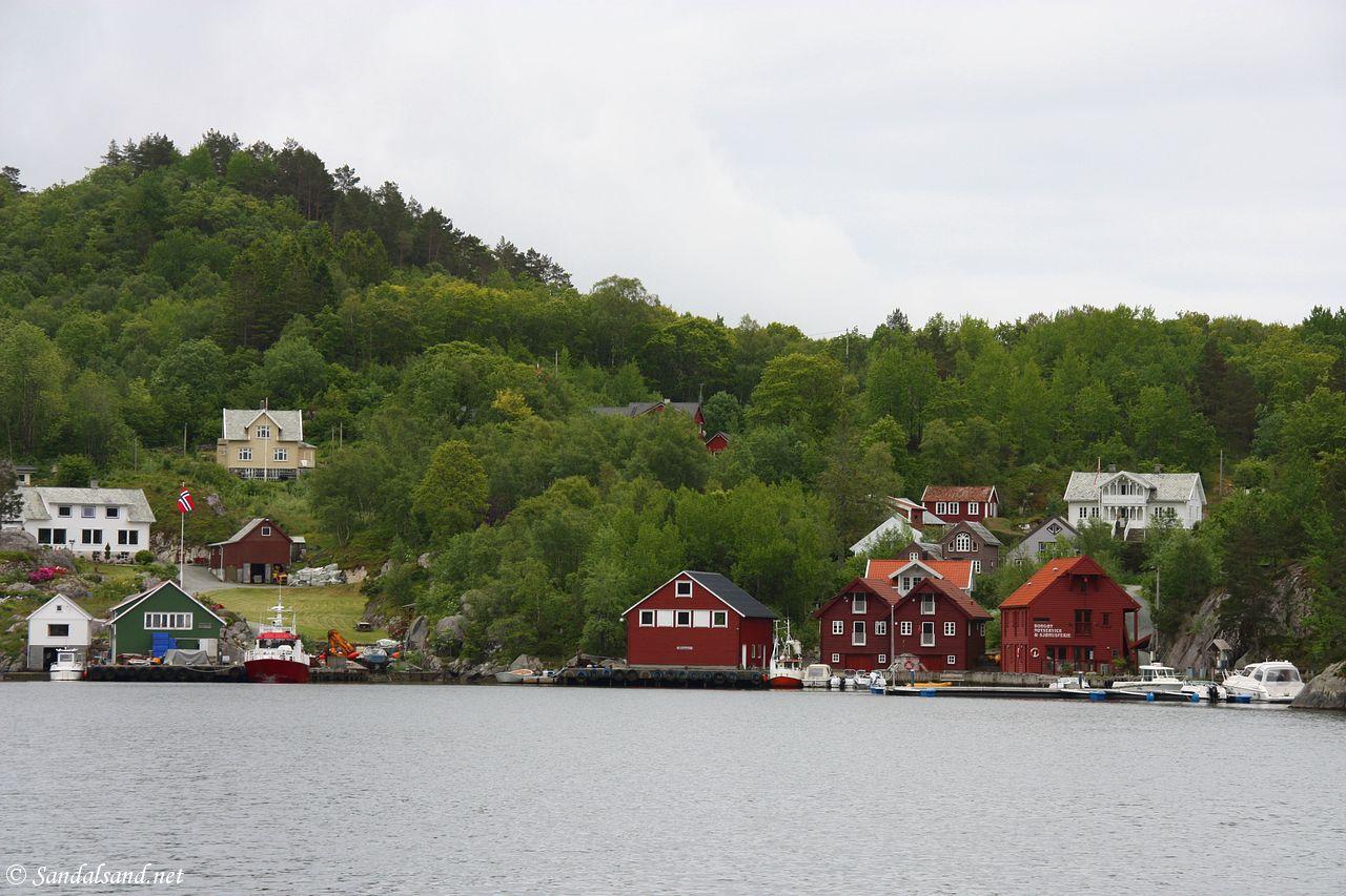 Rogaland - Tysvær - Borgøy - Hattarvågen