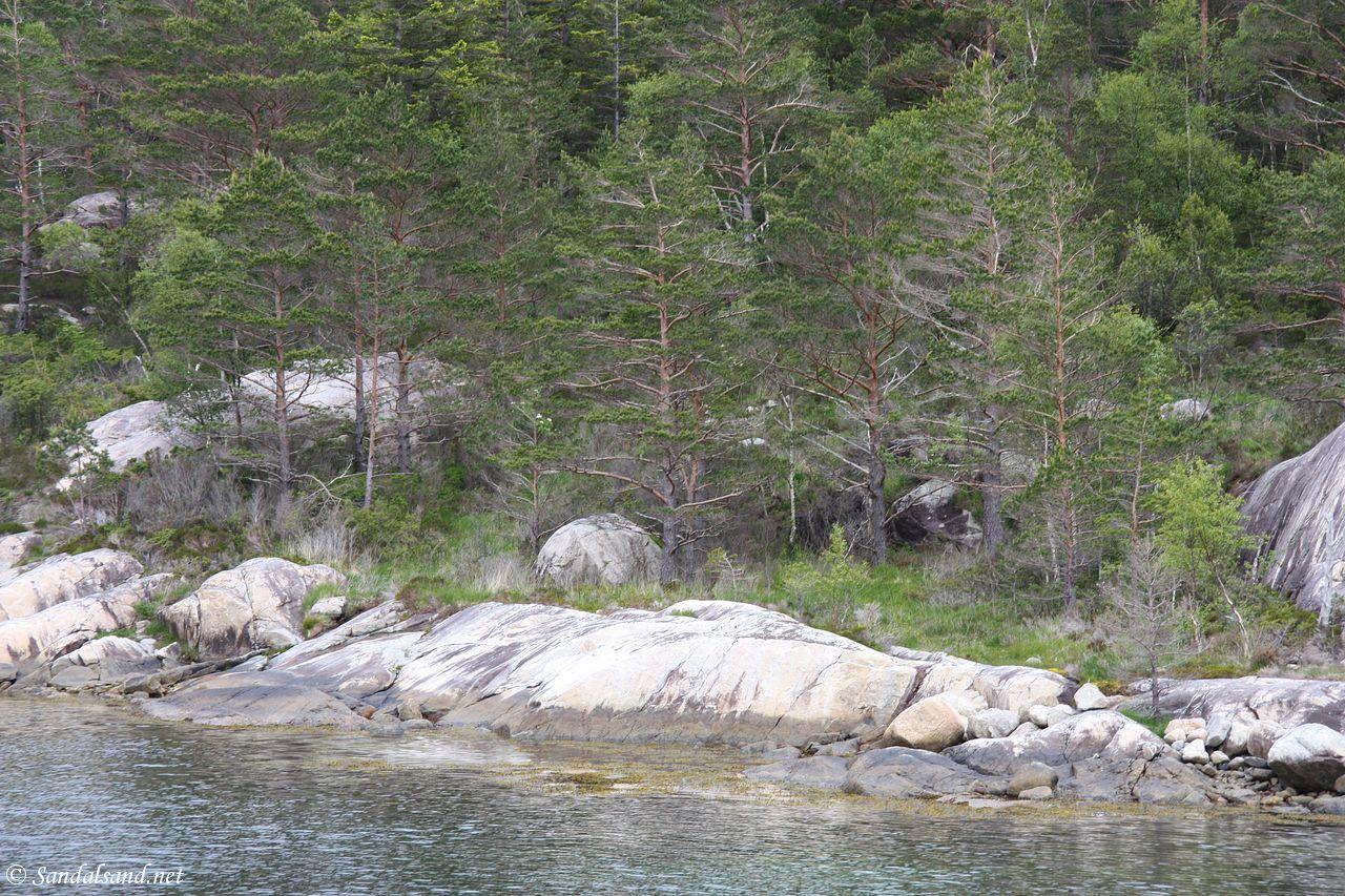 Rogaland - Tysvær - Borgøy - Damavika