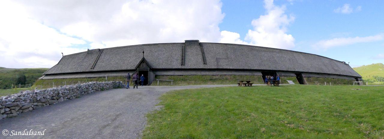 Nordland - Vestvågøy - Museum Nord - Lofotr Vikingmuseum - Høvdinghuset