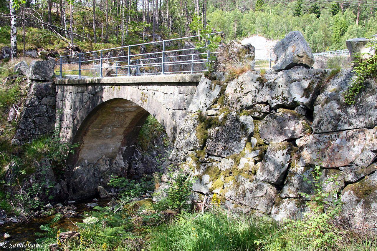 Rogaland - Vindafjord - Skjølja steinbro