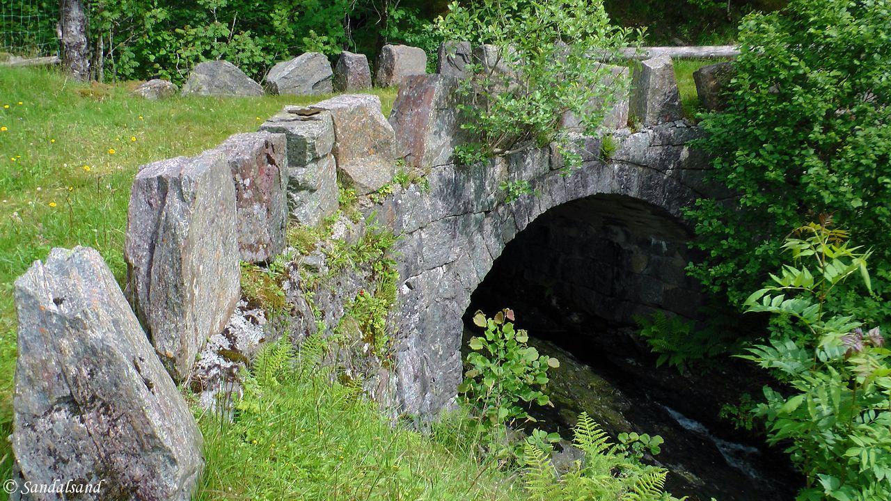 Rogaland - Vindafjord - Gjerde steinbro